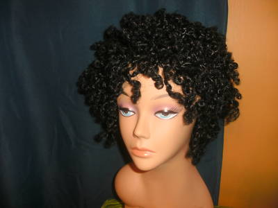 Natural Kinky Twist Wigs 15